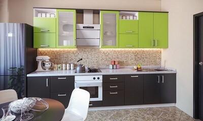 Кухня   Пленка   Мат   Зеленый венге