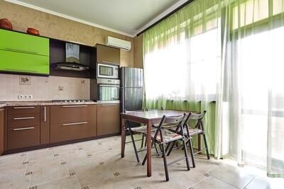 Кухня   Пленка   Мат   Коричневый зеленый