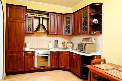 Кухня | Пленка | Рамка | Коричневый
