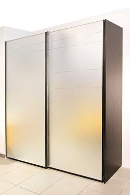 Шкаф-купе | Накладные двери | Пескоструйный рисунок