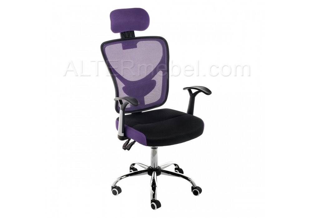 Компьютерное кресло Lody 1 фиолетовое / черное