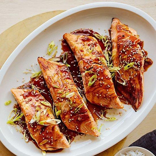 January 20 - Salmon Teriyaki