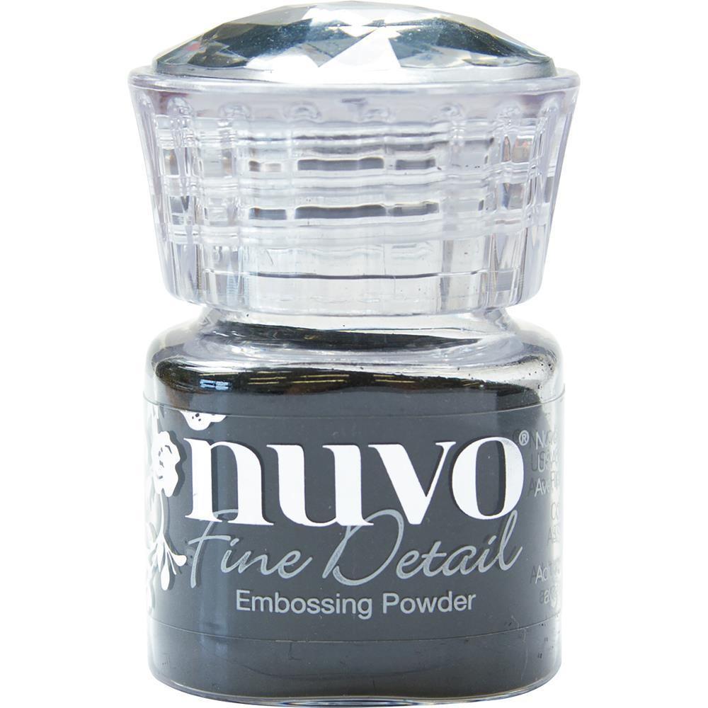 Nuvo Embossing Powder Fine Detail Jet Black