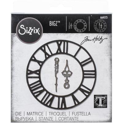 Tim Holtz Sizzix Bigz Die Timekeeper