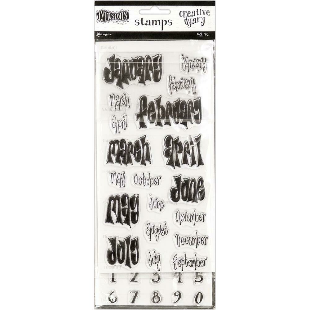 Dylusions Dyary Stamp Set 1