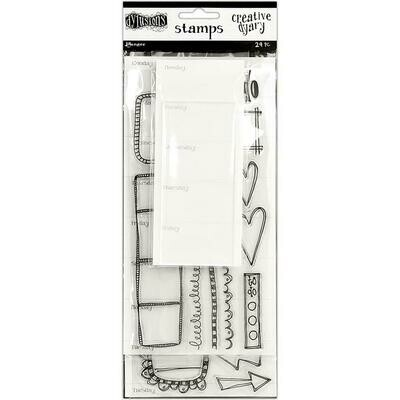 Dylusions Dyary Stamp Set 2