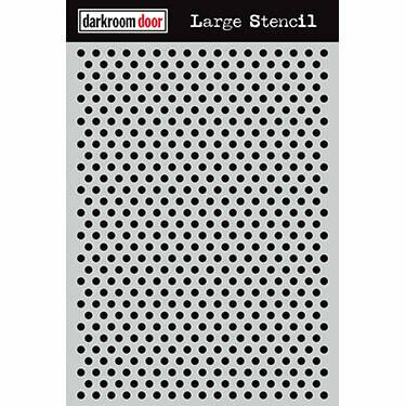 Darkroom Door Stencil Large