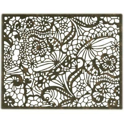 Tim Holtz Sizzix Thinlits Dies Intricate Lace