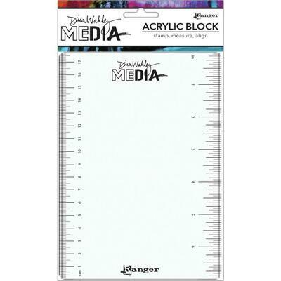 Dina Wakley Media Stamping Block 5