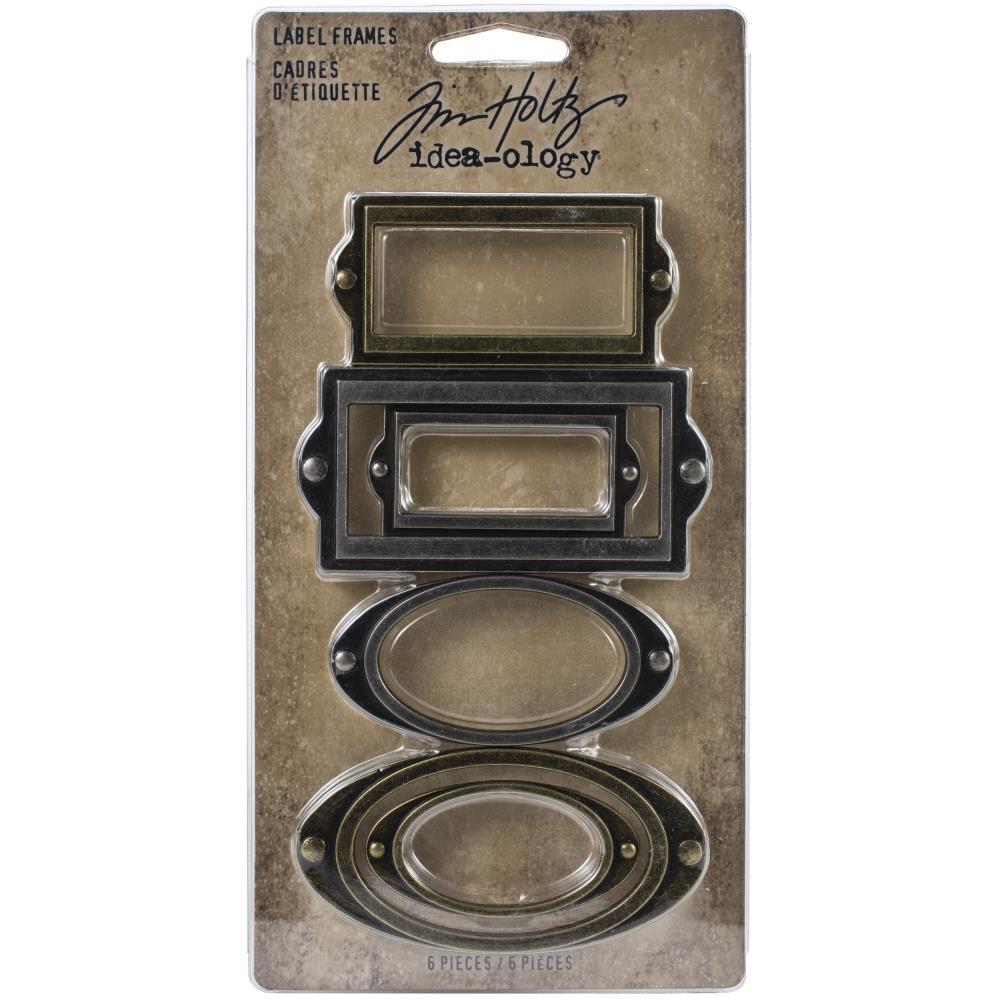Tim Holtz Idea-Ology Label Frames