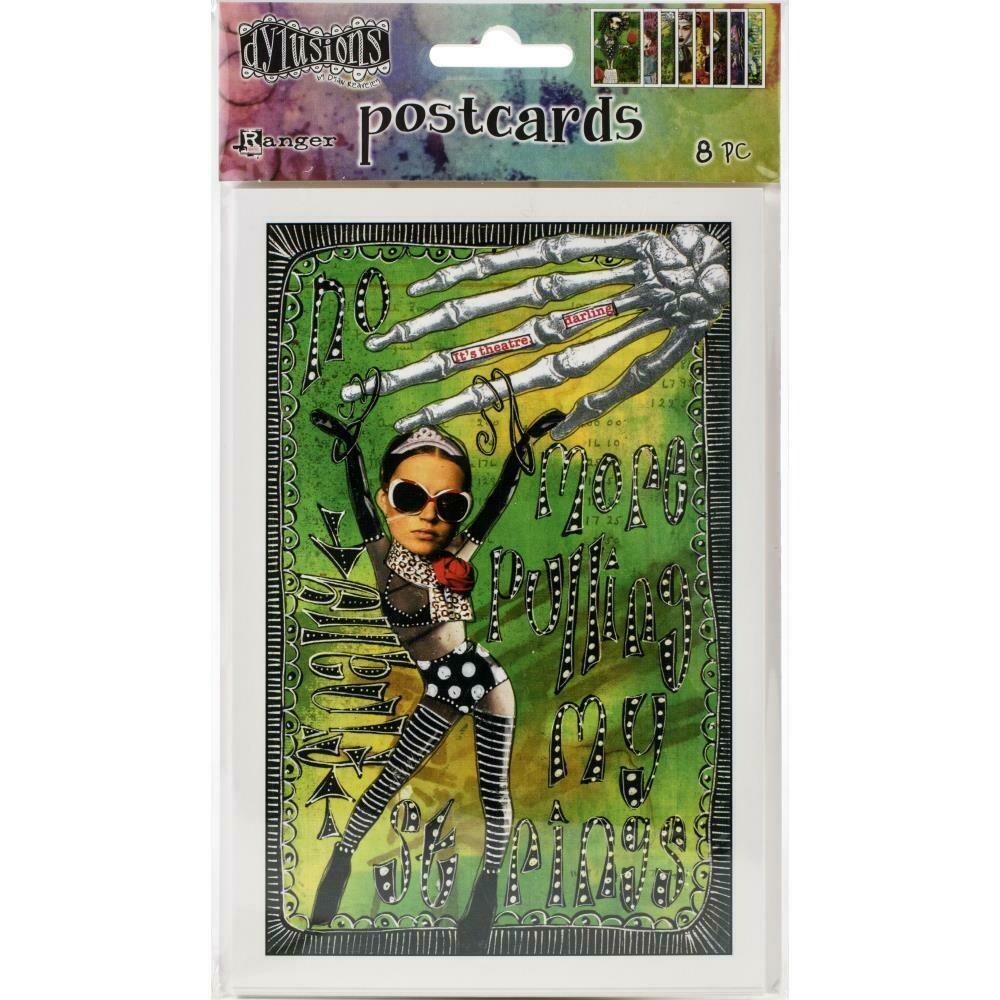 Dylusions Postcards Set 3