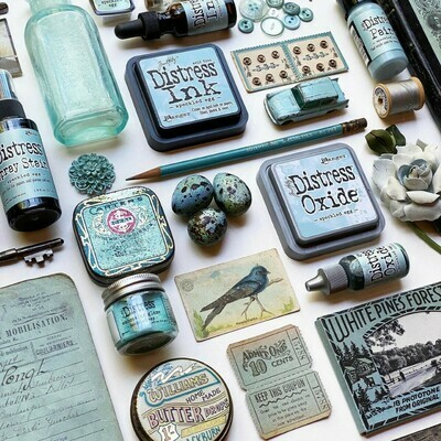 Tim Holtz Distress Speckled Egg Collection May 2020