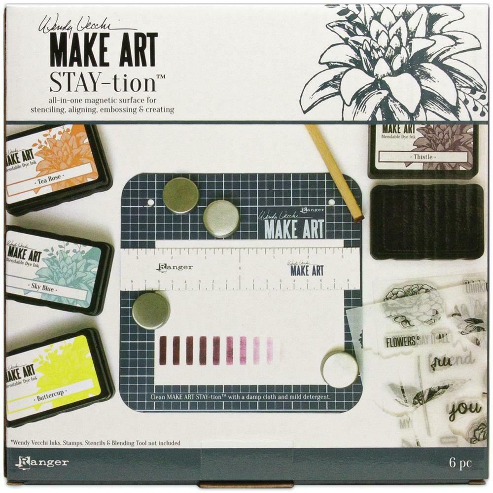 Wendy Vecchi Make Art Stay-tion 7 inch mini