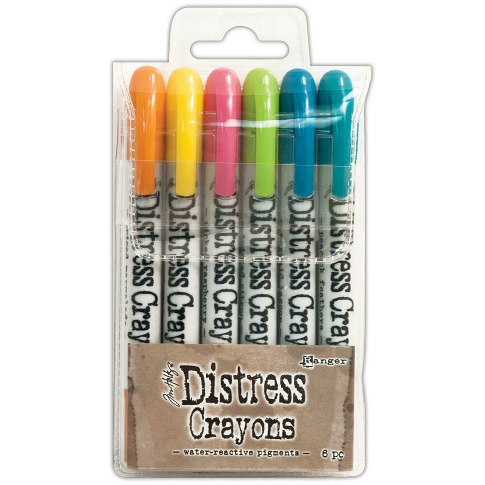 Tim Holtz Distress Crayons assorted