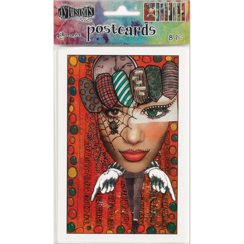 Dylusions Postcards