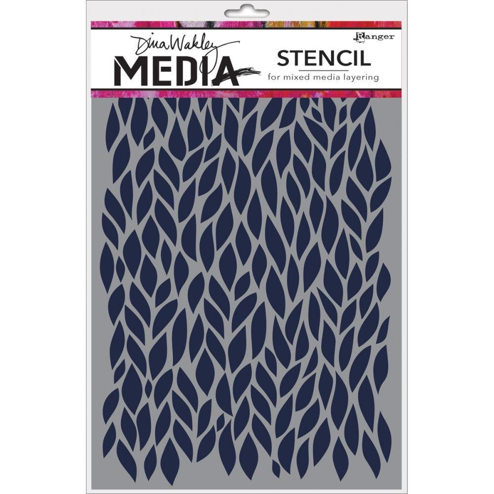 "Dina Wakley Media Stencils 9""X6"""