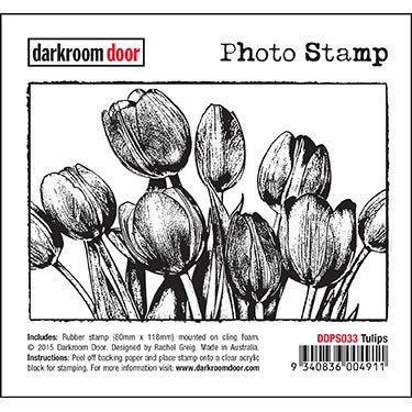 Darkroom Door Photo Stamp