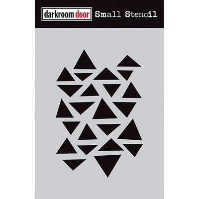 Darkroom Door Stencil Small