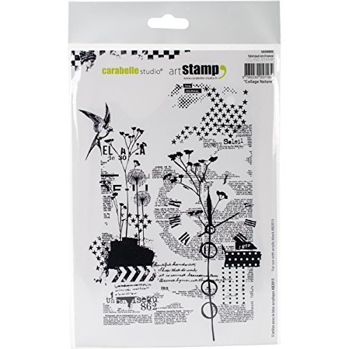 Carabelle Studio Background Cling Stamp A5