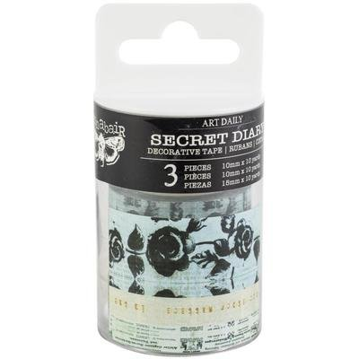 Finnabair Art Daily Planner Decorative Tape 3/Pkg