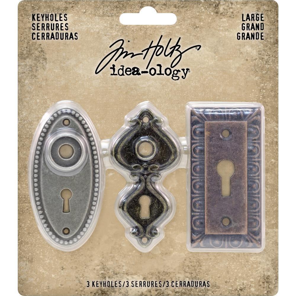 Tim Holtz Idea-Ology Metal Large Keyholes