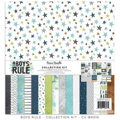 Cocoa Vanilla Boys Rule Collection Kit