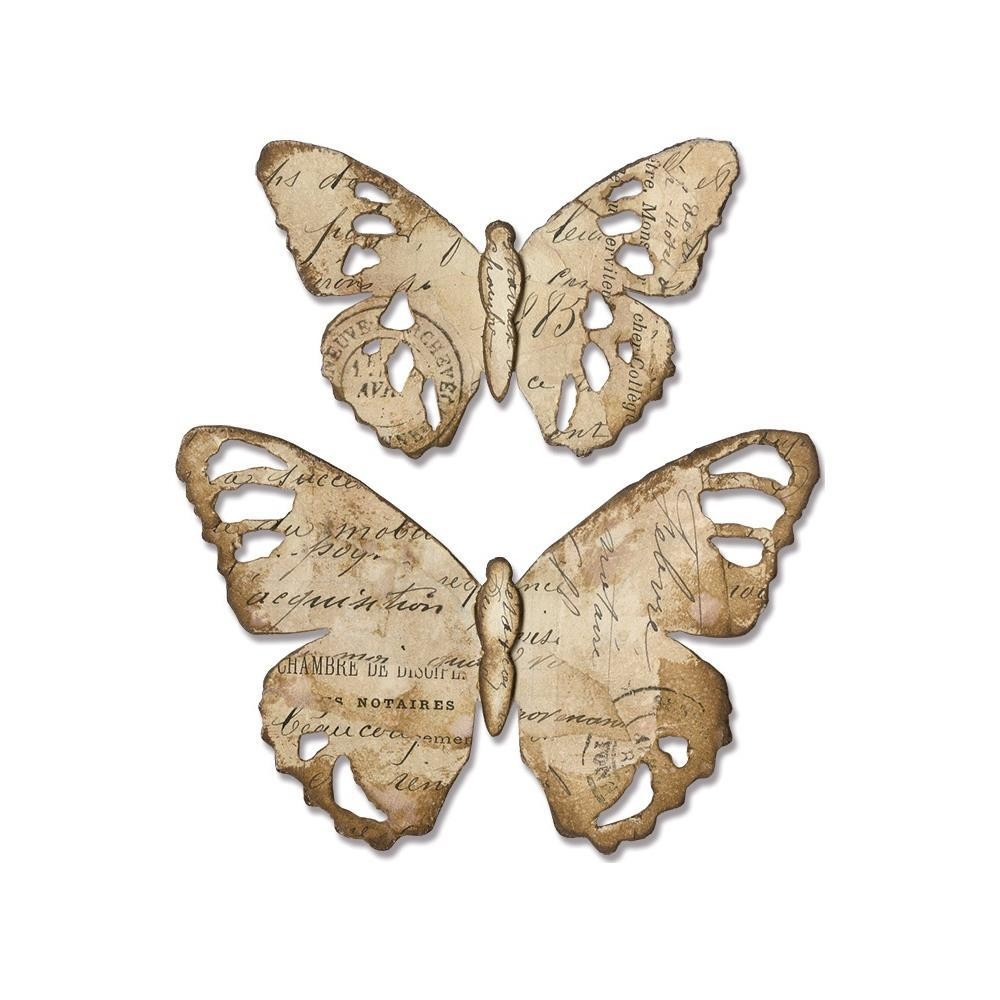 Tim Holtz Sizzix Bigz Die Tattered Butterfly