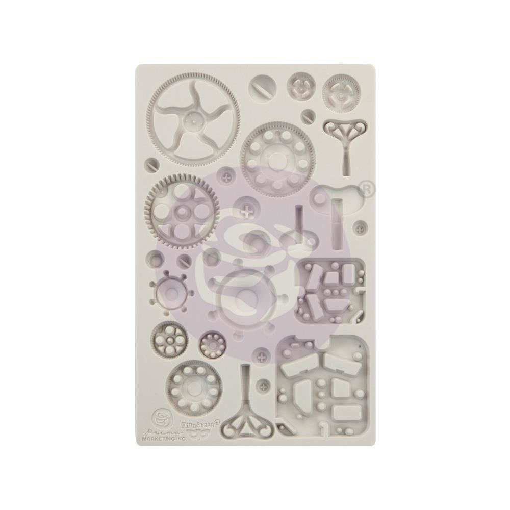 "Finnabair Decor Moulds 5""X8"" Mechanica"
