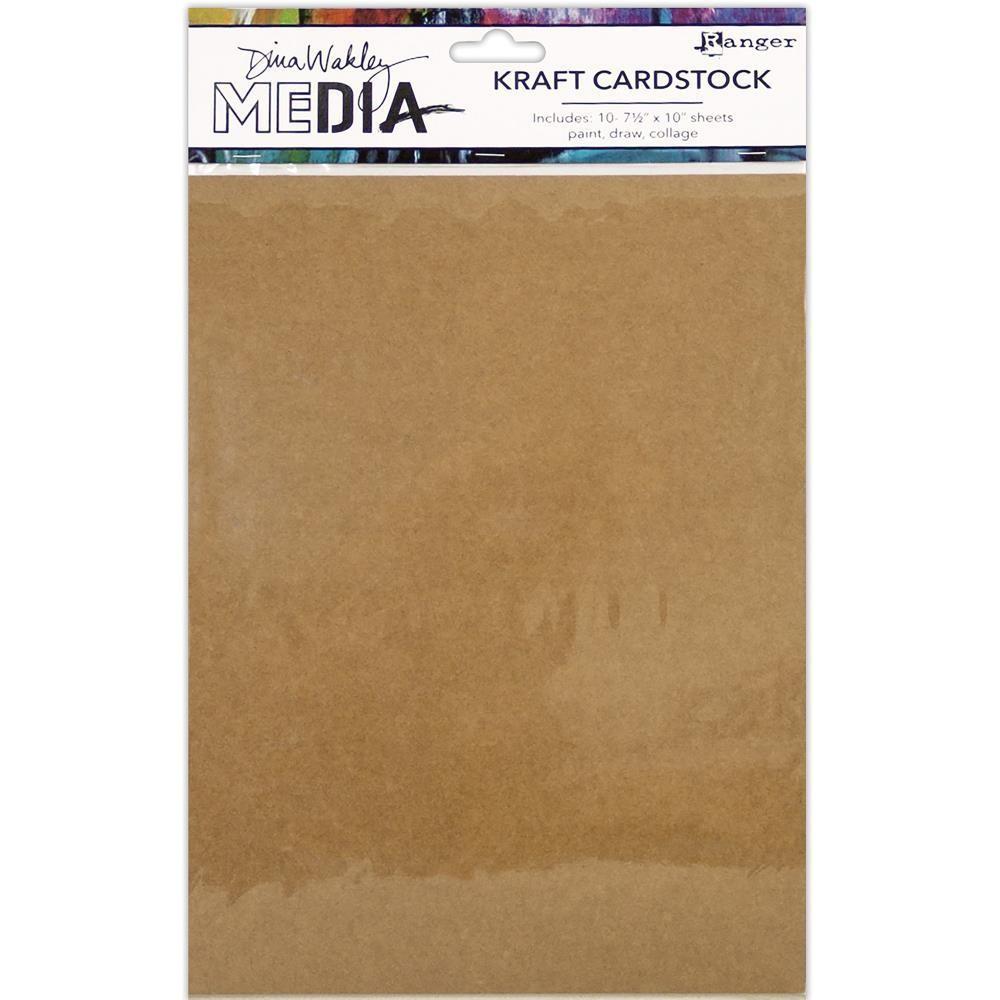 Dina Wakley Media Kraft Paper Pack