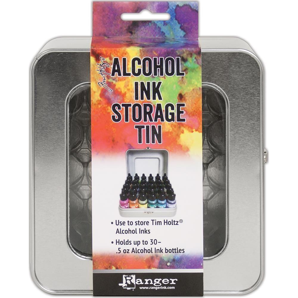 Tim Holtz Alcohol Ink Storage Tin