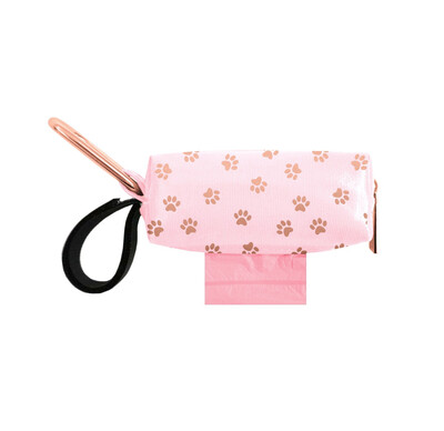 Pink w/ Rose Gold Dots Duffel (Limited Edition)