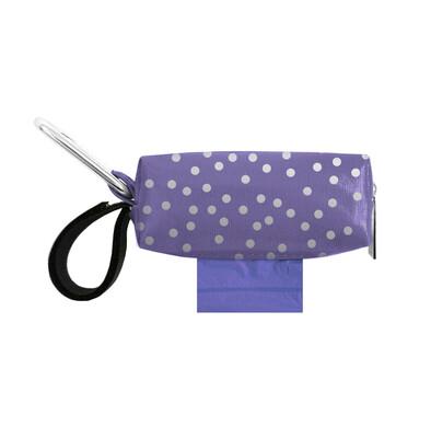 Purple w/ Silver Dots Duffel (Limited Edition)