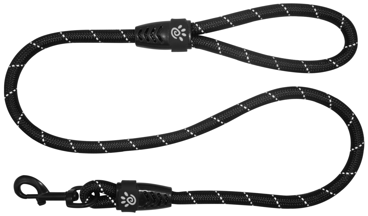 4ft Reflective Rope Leash w/Loop Handle (Small)