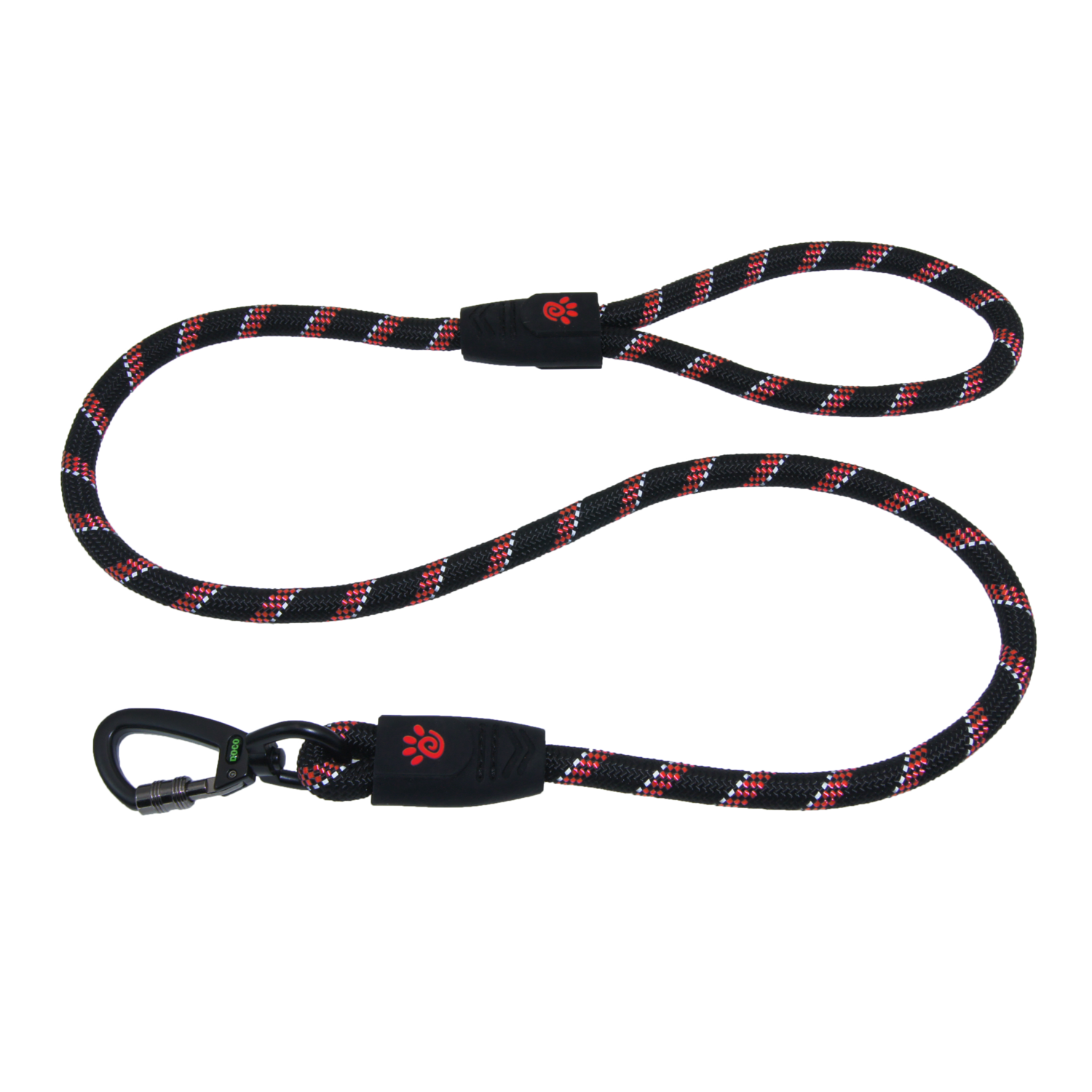 4ft Reflective Rope Leash - Click & Lock Snap