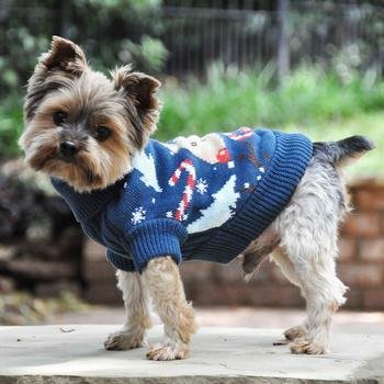 Combed Cotton Holiday Sweater (Reindeer)
