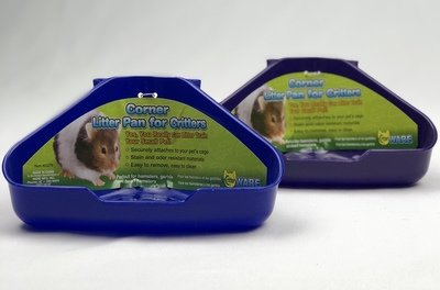 Corner Litter Pan For Critters (Assorted)