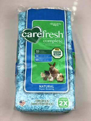 Carefresh Complete Natural Premium Soft Bedding - Blue