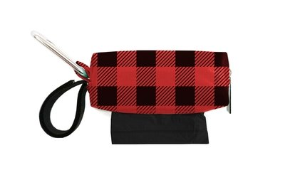 Red Check Duffel