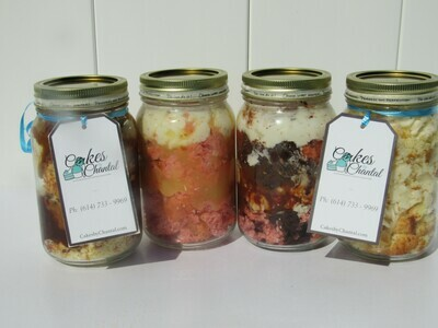 Cake-n-a-jar -Medium (16oz)