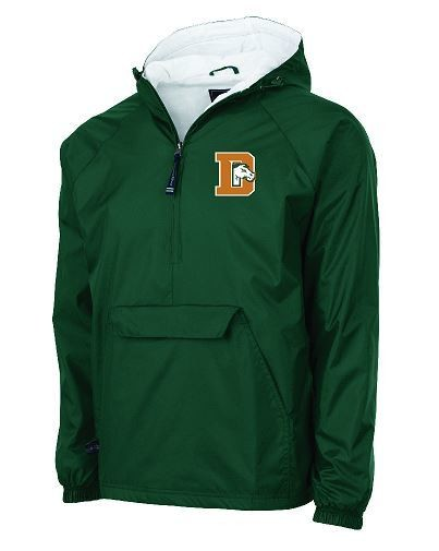 Charles River 1/2 Zip Lined Rain Pullover