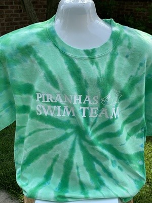 Tie-Dye Long Sleeve T-shirt with Choice of Greenbrier Logo