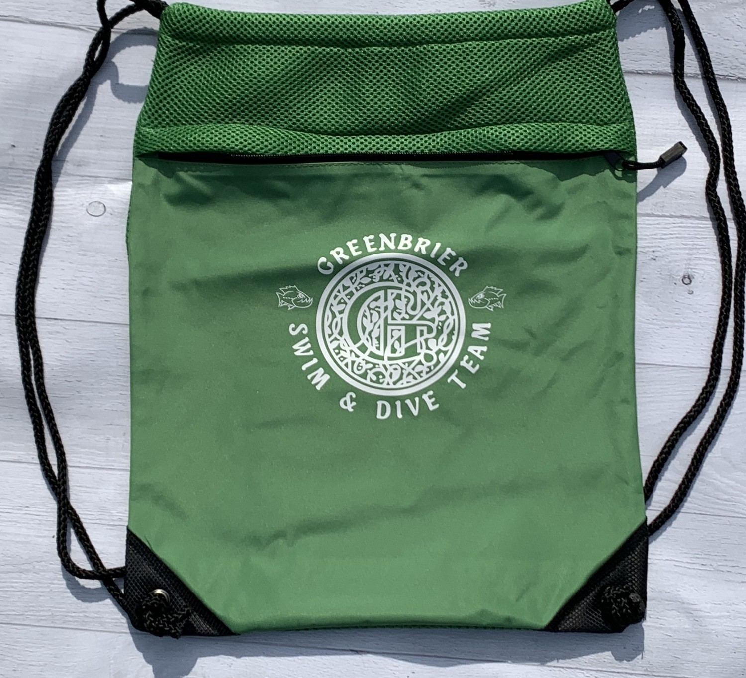 String Bag with choice of Greenbrier Logo