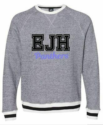 Unisex Peppered Fleece Crewneck Sweatshirt