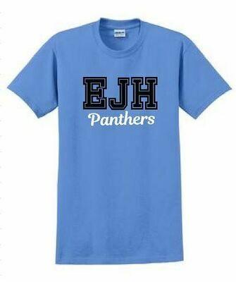 Gildan Short Sleeve T-shirt - EJH Panthers - Varsity letters