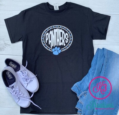 Panther Dot T-Shirt (Long or Short Sleeve)