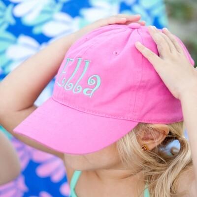 Hot Pink Kids' Cap