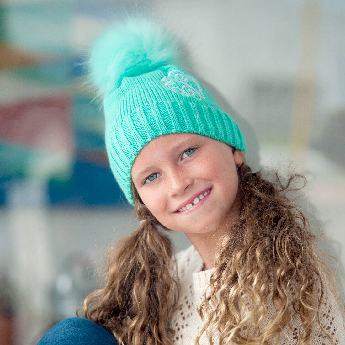 Mint Kids' Bella Hat