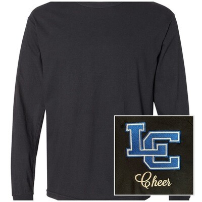 Unisex Comfort Color Long Sleeve Heavyweight T-Shirt - Left Chest Design
