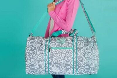 Parker Paisley Duffel Bag