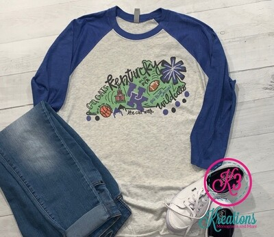 Kentucky State Baseball Tee